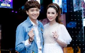 """Tái hợp sau 9 năm không liên lạc, Ngô Kiến Huy - Sam """"thả tim"""" đầy tình tứ tại họp báo ra mắt MV"""