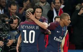 Gạt hiềm khích, song sát Neymar-Cavani vùi dập Bayern Munich
