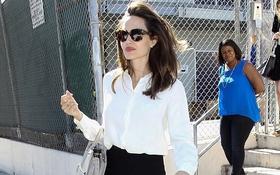 Chia tay chồng, Angelina Jolie trở thành bà mẹ đơn thân ngày càng xinh đẹp và sang chảnh