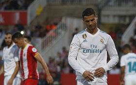 Ronaldo tịt ngòi, Real thua sốc, để Barca bỏ xa 8 điểm