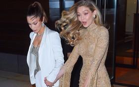 """Vì diện bộ đầm dài siêu lộng lẫy, Gigi Hadid phải """"trả giá"""" bằng màn suýt ngã sấp mặt trên phố"""