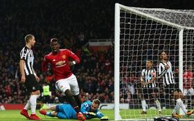 Pogba ghi bàn ngày trở lại, Man Utd thắng tưng bừng