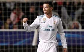 """Ronaldo giải cơn khát bàn thắng, Real Madrid giành chiến thắng """"6 sao"""""""