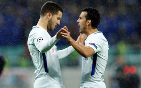 Chelsea vùi dập đội bóng tí hon, giành vé vào vòng knock-out Champions League