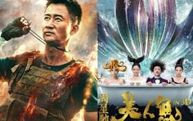 """""""Chiến Lang 2"""" vượt """"Mỹ Nhân Ngư"""", trở thành phim ăn khách nhất Trung Quốc"""