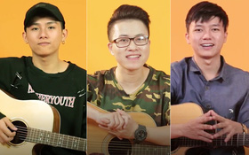 """Clip: 3 hot boy """"Sing My Song"""" đàn ghi-ta, hát tặng khán giả nhân dịp năm mới!"""