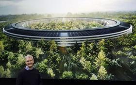 """""""Phi thuyền khổng lồ"""" 5 tỷ đô của Apple sắp hoàn thành với phòng gym rộng hơn 9.290 m2"""