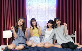 """Pijama Party: Hoàng Yến Chibi bị phạt suýt té sấp mặt, Jang Mi cover """"Em gái mưa"""" mà thất bại"""