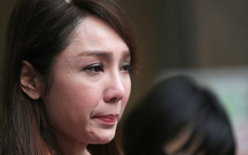 Bị tung ảnh ngoại tình, Helen Thanh Đào khóc lóc tố chồng bạo hành đến ngất lịm