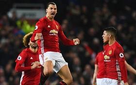Man Utd thoát thua Liverpool nhờ người hùng Ibrahimovic