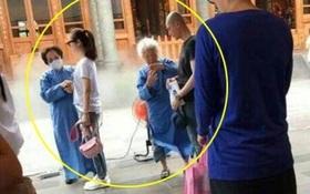 """Sau gần 9 tháng """"yêu xa"""", Lâm Tâm Như - Hoắc Kiến Hoa cùng nhau đi chùa cầu phúc cho con gái"""