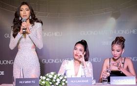 The Face 2017: HLV Thái Lan đến sớm, chờ gần 2 tiếng thì 3 HLV Việt Nam mới đến và bắt đầu họp báo