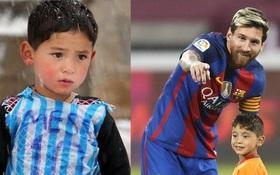 Có một Messi bền bỉ làm từ thiện