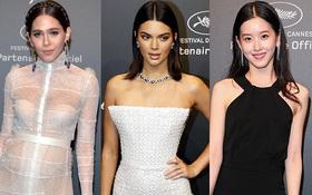 """Chompoo Araya và """"hot girl trà sữa"""" bị Kendall Jenner dìm hàng nhan sắc tại Cannes"""