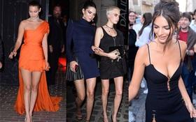 """""""Đêm hội chân dài"""" giữa phố Paris: Kendall, Bella, Cara và dàn mỹ nhân hot nhất quy tụ khoe dáng siêu gợi cảm!"""