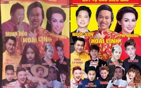 Sự thật đằng sau tấm áp phích quảng cáo có hình Minh Béo, Tùng Sơn đặt cạnh Hoài Linh?