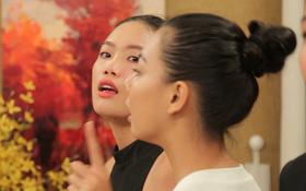 Next Top Model: Hỗn chiến nhà chung, Nguyễn Hợp bị ném đồ, tạt nước đến phát khóc