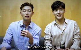 """Park Seo Joon, Kang Ha Neul nói """"Xin chào"""" bằng tiếng Việt cực dễ thương"""