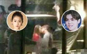 """Hé lộ hình ảnh về nụ hôn của Luhan và bạn gái gia thế """"khủng"""" mà fan hằng kiếm tìm"""