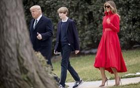 Cậu út nhà Tổng thống Mỹ và lần xuất hiện hiếm hoi cùng cha mẹ tại Nhà Trắng