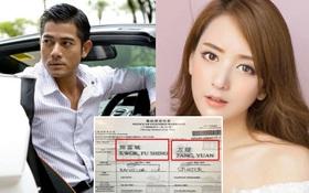 Quách Phú Thành lộ giấy đăng ký kết hôn với mẫu nữ nóng bỏng kém 23 tuổi