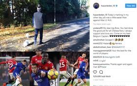 Sao Chelsea dắt chó đi dạo để trêu tức cầu thủ Man Utd