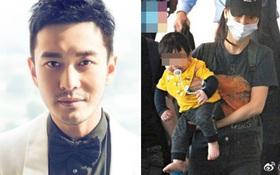 Huỳnh Hiểu Minh nổi giận vì hình ảnh của con trai bị paparazzi phát tán công khai