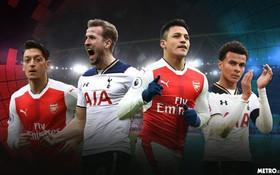 """Arsenal vs Tottenham: Giờ ai mới là """"gà""""?"""