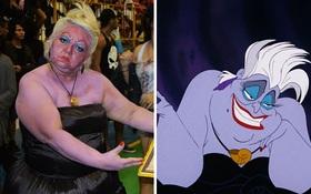 Bà già chơi lầy cosplay thành nhân vật hoạt hình cực đỉnh khiến giới trẻ còn phải xách dép