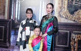 Linh Nga xuất hiện rạng rỡ cùng con gái giữa lùm xùm bị chồng cũ kiện