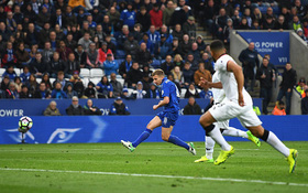 Tuyệt phẩm giúp Leicester trụ hạng lọt Top bàn thắng đẹp vòng 36