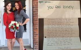 Gần 1 tháng sau khi con gái 16 tuổi qua đời, người mẹ bất ngờ tìm thấy những lá thư cảm động con để lại
