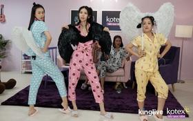 Team Sang chịu chơi, biến Tiệc ngủ thành sàn diễn Victoria Secret đầy cá tính