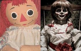"""Truy tìm """"búp bê quỷ ám"""" Annabelle ngoài đời thực"""