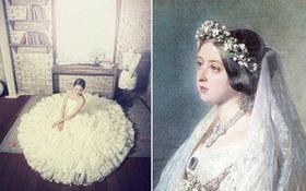 Không nhờ người phụ nữ này, các cô dâu ngày nay có lẽ sẽ không bao giờ mặc váy cưới màu trắng