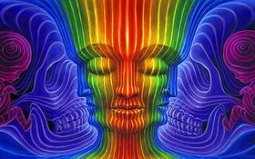 Bức tranh khuôn mặt ảo giác cho biết điều đang khiến bạn suy nghĩ