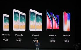 Bom tấn iPhone X đã ra mắt trong 1 bữa tiệc công nghệ đầy ấn tượng của Apple