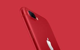 Ơn giời, một chiếc iPhone 7/ 7 Plus ĐỎ RỰC vừa được Apple giới thiệu!