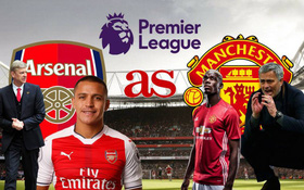 Arsenal vs Man Utd: Bông… hoa sữa của Premier League