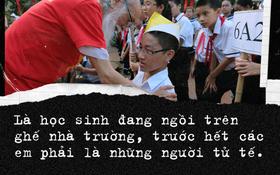 Sau 2 năm, bài phát biểu xúc động của thầy Văn Như Cương tại lễ khai giảng bất ngờ được chia sẻ lại
