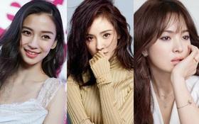 """""""12 mỹ nhân đẹp nhất châu Á 2017"""": Angela Baby, Song Hye Kyo bất ngờ nhường bước trước diễn viên kém tên tuổi"""
