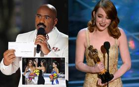 Oscar 2017 và Miss Universe 2015: 2 lần xảy ra sự cố hy hữu nhất làng giải trí thế giới!