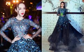 """Hoa hậu Thu Thảo và Angela Phương Trinh """"đụng hàng"""": Cùng một chiếc váy nhưng mỗi người một vẻ"""