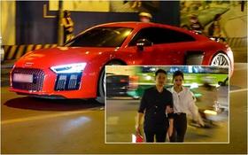 Đông Nhi - Ông Cao Thắng xuất hiện cùng siêu xe 13 tỷ nổi bật trên phố