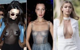 Kendall, Gigi, Bella: Thế hệ siêu mẫu mới hay những nàng chân dài chỉ... hở là giỏi?