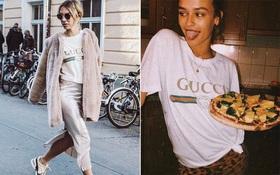 """13 triệu đồng: giá """"chát"""" thế mà chiếc áo thun Gucci này vẫn """"phá đảo"""" đường phố như thường!"""