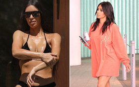 Kim siêu vòng 3 nay đã thon gọn và còn thay đổi cả phong cách thời trang