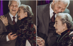 Mùa Valentine, ngắm bộ ảnh ngọt ngào của cụ ông, cụ bà đã 90 tuổi để thấy tình yêu thật tuyệt vời!