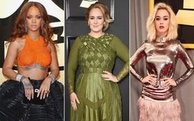 Béo thì sao, Adele vẫn dẫn đầu Top mặc đẹp nhất trên thảm đỏ Grammy 2017 đấy thôi!