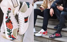 """Sneaker thêu, xu hướng """"hoa hòe hoa sói"""" mà bạn cứ lướt Instagram là gặp thời gian này"""